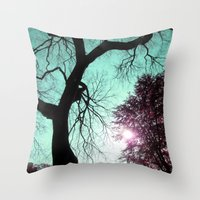 Wishing Tree Throw Pillow