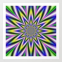 Twelve Pointed Star Art Print