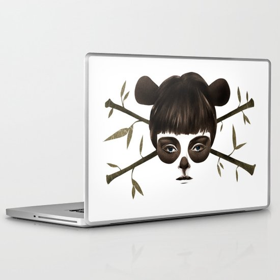 Pirate Panda Laptop & iPad Skin