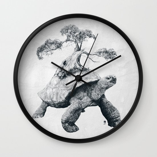 Tortoise Tree - Growth Wall Clock