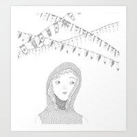 knight_01 Art Print