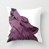 Howlin For Love Throw Pillow