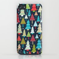 Christmas Trees iPod touch Slim Case