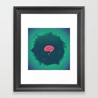 Planet B Framed Art Print