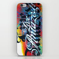 Live Amazed! iPhone & iPod Skin