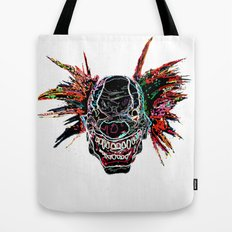 Psychedelic Clown Tote Bag