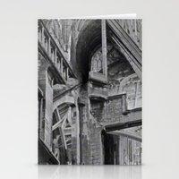 English Gothic (Halftone) Stationery Cards