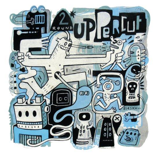 Uppercut Art Print