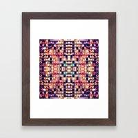 Tiled Framed Art Print