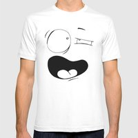 Udi (Two) Mens Fitted Tee White SMALL