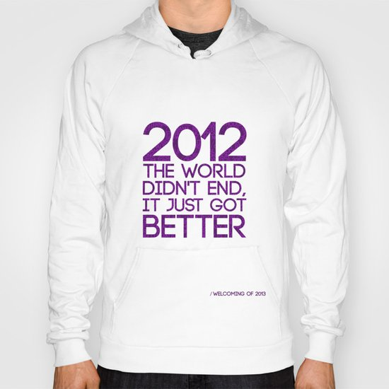 2012...It Was Emotional Hoody