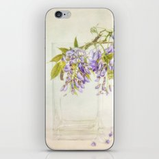 Still life with wisteria iPhone & iPod Skin