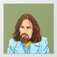 Pixel George Canvas Print