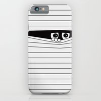 iPhone Cases featuring Watching. by Matt Leyen