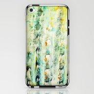 Greenish Abstract iPhone & iPod Skin