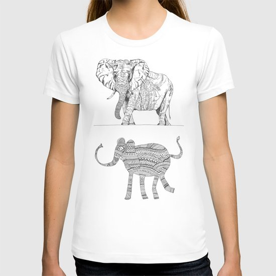 two ways to see one elephant T-shirt