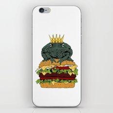 King of Burgers iPhone & iPod Skin