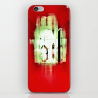 Red Room iPhone & iPod Skin