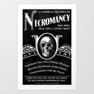 Faux School Of Necromanc… Art Print