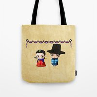 Korean Chibis Tote Bag