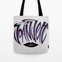 Joan Jett Tribute Tote Bag