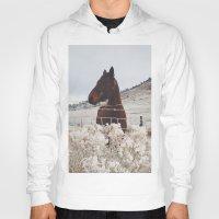 Snowy Horse Hoody