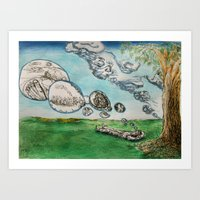 Clouds of The Mind 1 Art Print