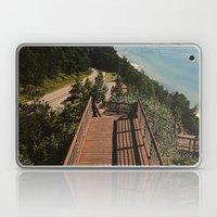 Lake Michigan Overview - Arcadia, MI Laptop & iPad Skin
