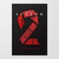 SCREAM 2 (Alternative Movie Poster) Canvas Print