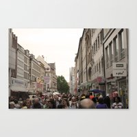 Busy Munich  Canvas Print
