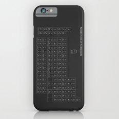 Periodic table of elements iPhone 6 Slim Case