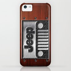 Embossed Steel Jeep Logo… iPhone 5c Slim Case