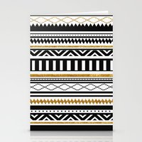 aztec Stationery Cards featuring Aztec by Kakel