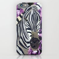 iPhone & iPod Case featuring Zebra! by GiGi Garcia Collages