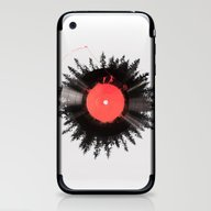 iPhone & iPod Skin featuring The Vinyl Of My Life by Robert Farkas