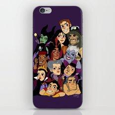 Villains iPhone & iPod Skin