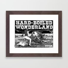 asc 610 - Les champs de la mort (hardboiled wonderland) Framed Art Print