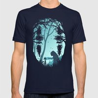 Lonely Spirit Mens Fitted Tee Navy SMALL
