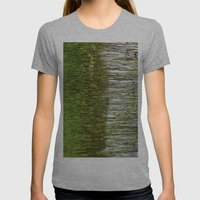 Reeds  Womens Fitted Tee Athletic Grey SMALL