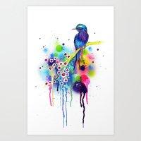 -In Heaven- Art Print