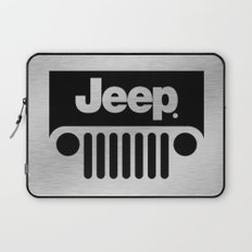Jeep Steel Chrome Laptop Sleeve