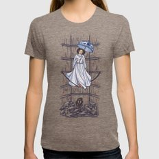 Leia's Corruptible Morta… Womens Fitted Tee Tri-Coffee SMALL