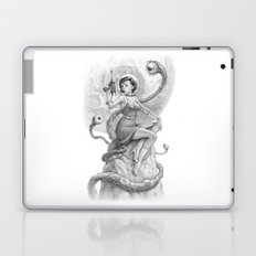 Astro Babe B&W Laptop & iPad Skin