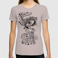 eye believed you Womens Fitted Tee Cinder SMALL