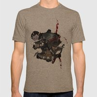 Kunoichi 3 Of 4 Mens Fitted Tee Tri-Coffee SMALL