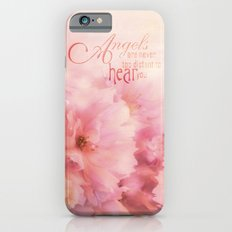 Pink Cherry Blossom for Angels iPhone 6 Slim Case