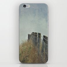 Fence on the Hill iPhone & iPod Skin