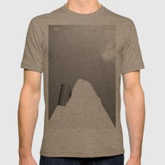 Vacant Architecture Mens Fitted Tee Tri-Coffee SMALL