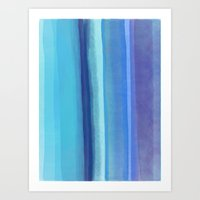 Blu Art Print