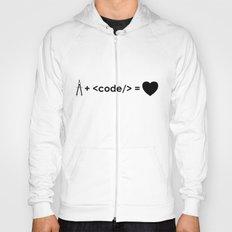 design + code = ♥ Hoody